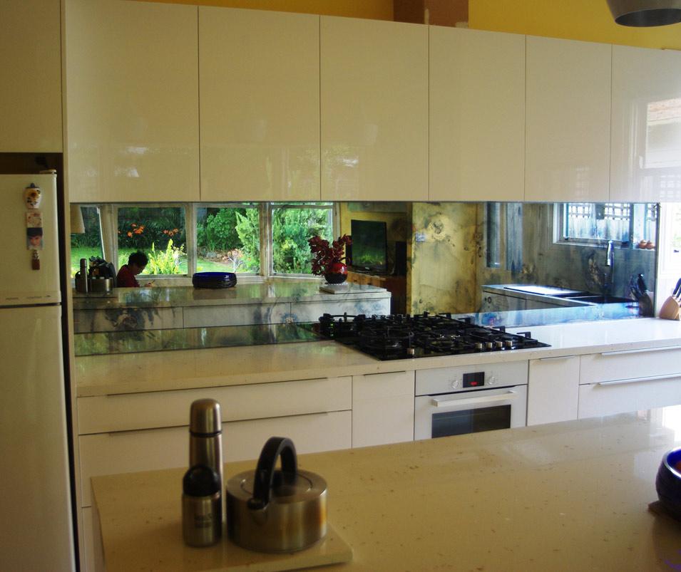 Mirror Kitchen Splashbacks Melbourne Antique Mirrors